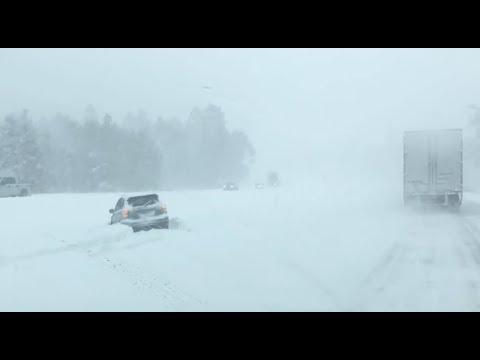 M7.5 Earthquake, All-Time Record Snow | S0 News Feb.22.2019