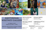 AMSTERDAM WHITNEY GALLERY APRIL 2019 EXHIBITION