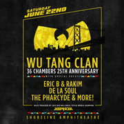 Wu-Tang Clan, Eric B & Rakim, De La Soul, The Pharcyde and more!