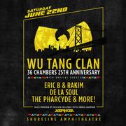 Wu-Tang Clan, Eric B & Rakim, De La Soul, The Pharcyde and more!
