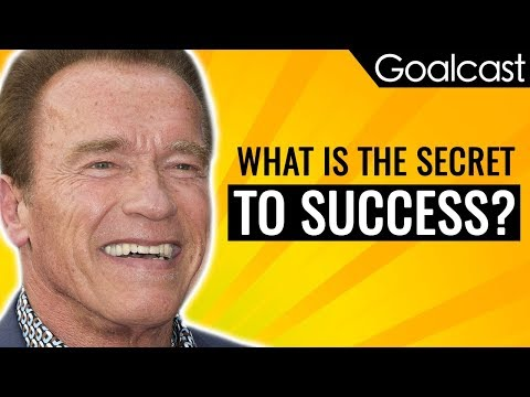 These Are Arnold Schwarzenegger's 5 Rules for Success | Goalcast