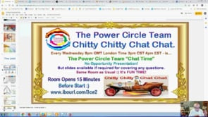 Power Circle Team Chitty Chitty Chat Chat Webinar Replay 13th Feb 2019