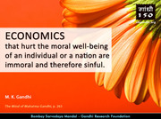 Thought For The Day ( ECONOMICS )