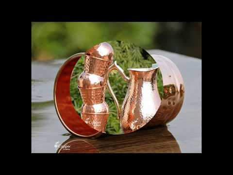 Amazing Health Benefits of Drinking Water in a Copper Drinkware