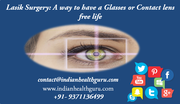 Lasik Surgery A way to have a glasses or contact lens free life