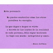 Nota personal....