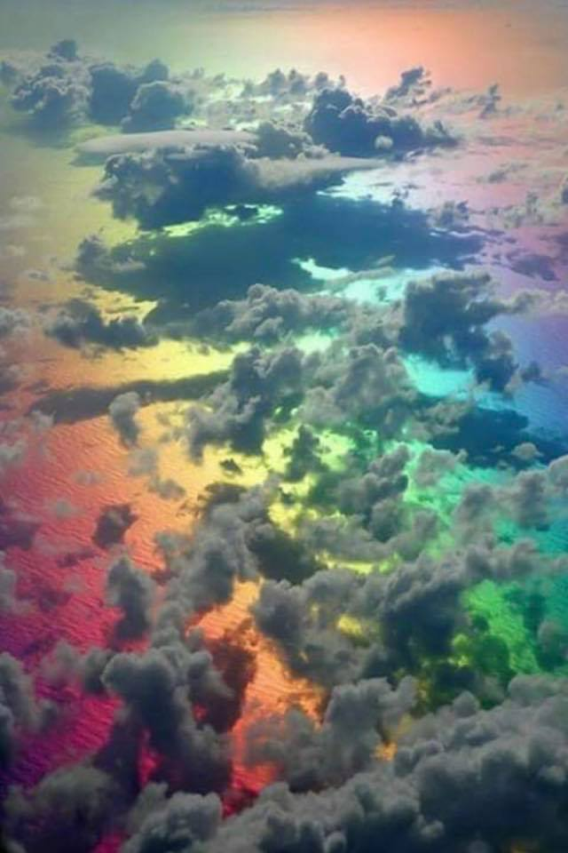 Rainbows Through the Clouds