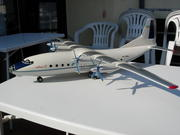 Ukraine Antonov factory made AN-12 1:50 scale heavy dry wood display Model