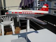 Interflug IL-14 1:50 scale heavy Die-Cast Display Model