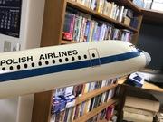LOT Polish Airlines IL-62 1:50 Die-Cast Display Model after Restoration