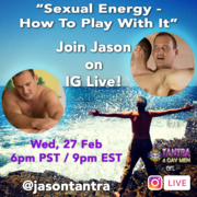 Join me @jasontantra on Instagram Live on Wed Feb 27 at 9PM EST