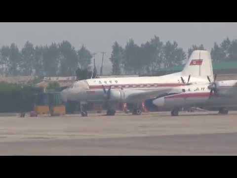 THE SIGHT & THE SOUND 12/12 : Air Koryo TU-204 P-633 inflight documentary from Pyongyang to Beijing