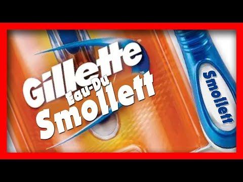 NEW GILLETTE eau du SMOLLETT Commercial (PARODY)