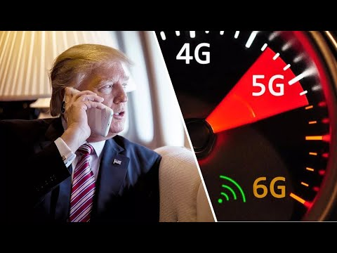 Trump Wants 5g & 6g Asap.. Crowd Control