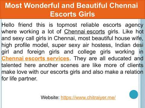 Enjoy and Have More Fun with Chennai Escorts