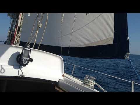 Puma 26, navegación  plácida