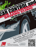 Car Control & High-Performance Driving Clinic sponsored by Audi Silver Spring & Craftsman Auto Care