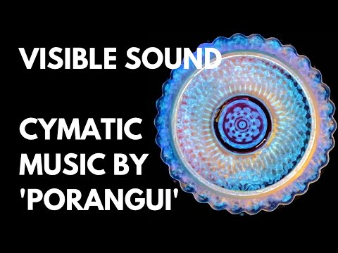 Cymatic Vibrations of 'Sachamama' by Porangui - Sound made Visible