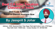 Best CA Inter Taxation Classes in India at Gyan Gurucull