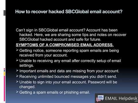 Fix SBCGlobal Email Problems