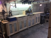 Workbench for Forman miter saw and drill press