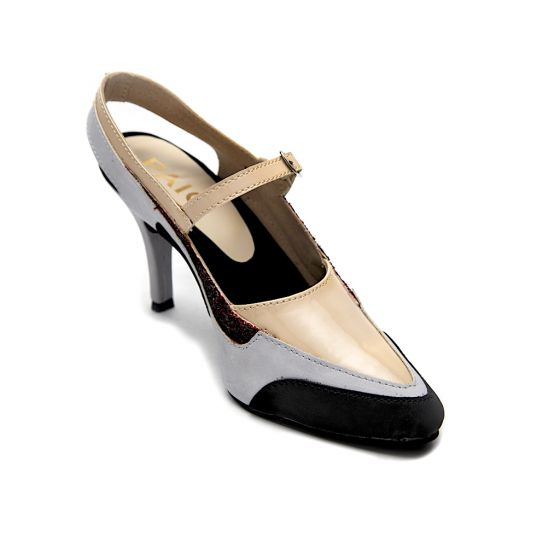 Buy Anakin Beige Mary Jane Stiletto Heels Sandal for Women at PAIO Shoes 5