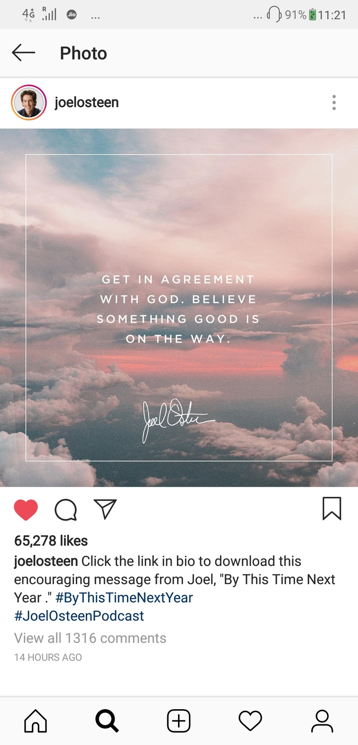 Get in agreement with God.