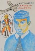 mail art  Antonie  Saint-Exupery