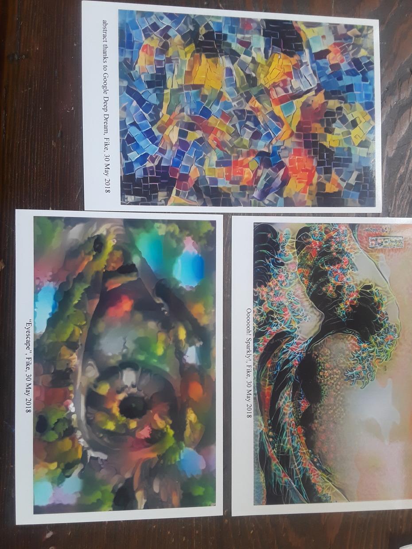Postcard Art July 2018
