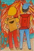 envie mail art  el camino de santiago