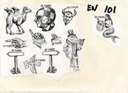 Stamp envelope N2