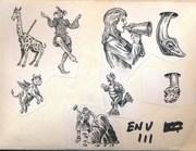 Stamp envelope N3