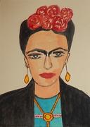 envie arte correo que tiene Frida en la cabeza