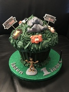 Jungle Giant Cupcake