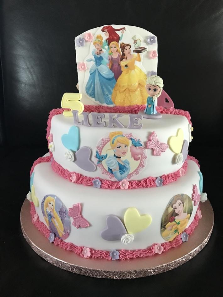 Double sides prinsessen taart