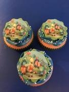 Big Bigs Band cupcakes