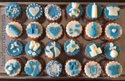 Babyshower mini cupcakes