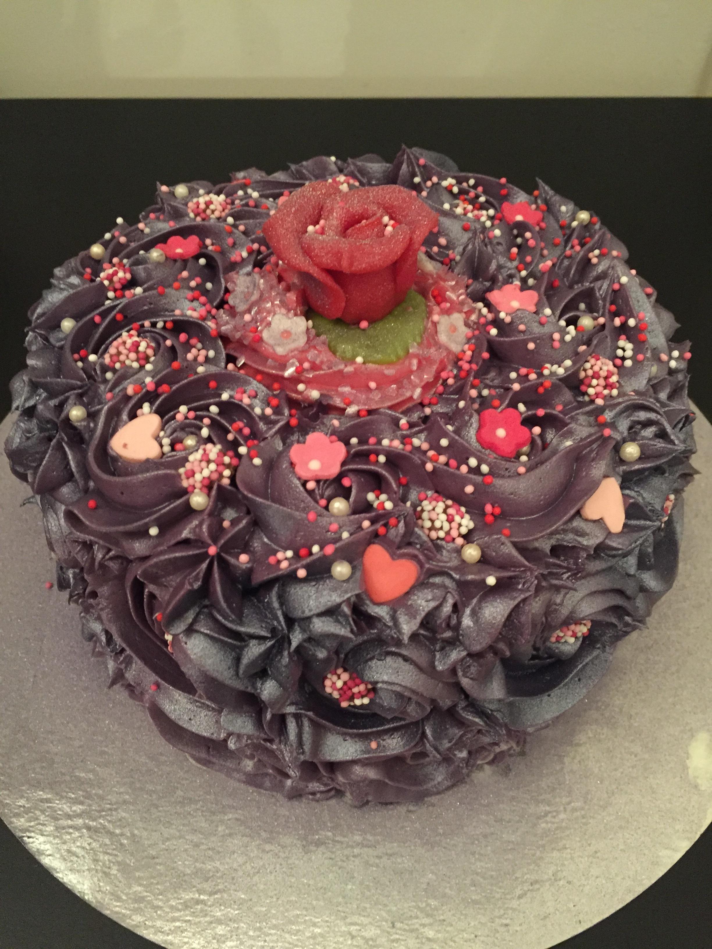 Rozetten taart