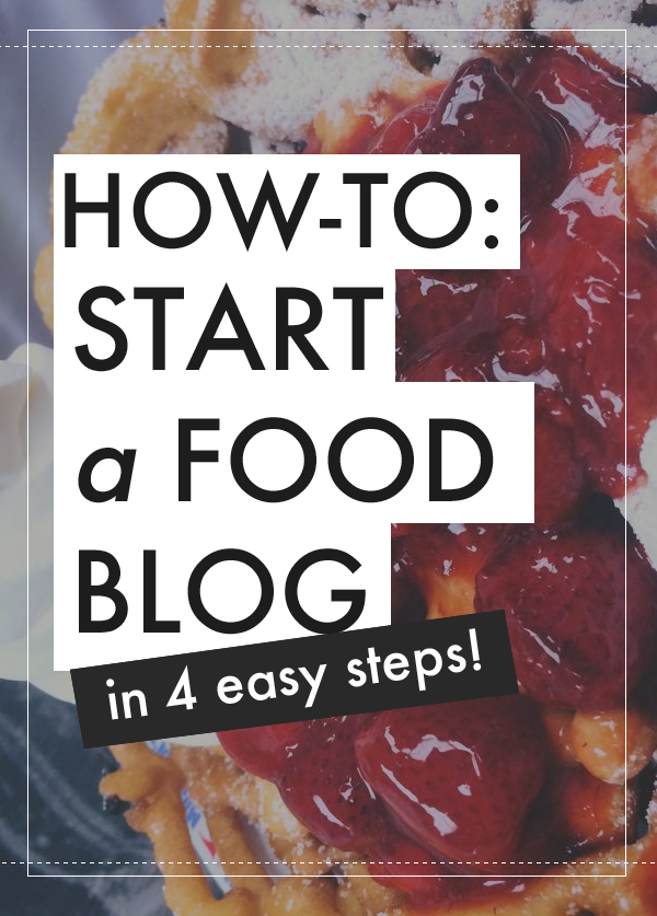 How to setup your own food blog