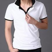 black collared tee manufacturer