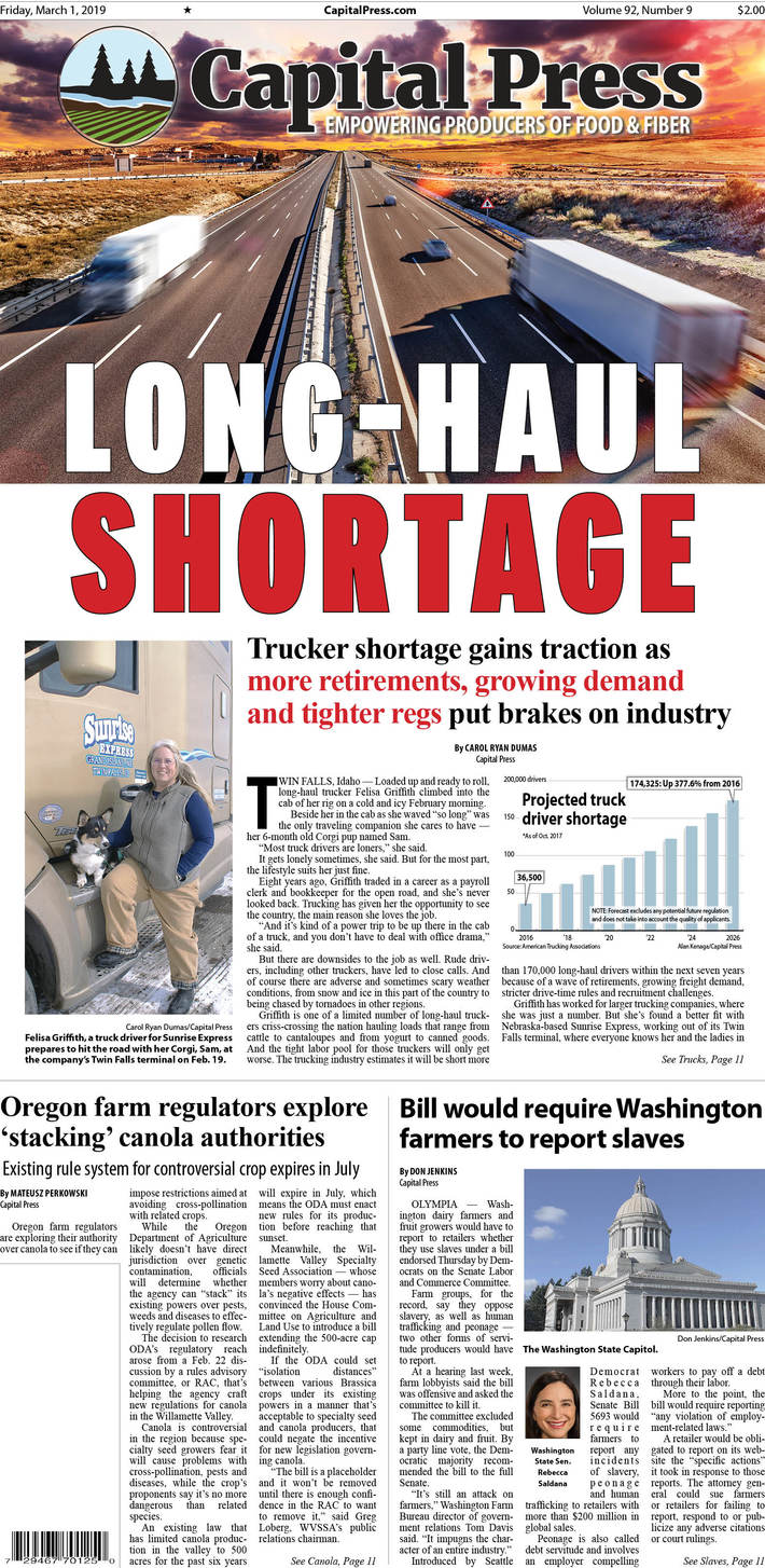 CP-trucker shortage