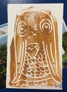 Owl print from Norma Soulet
