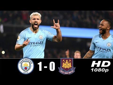 ฟูลแมตช์+ไฮไลท์เต็มพากย์ไทย Manchester City 1-0 West Ham 1-0  HD