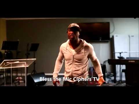 Christian Rapper Pryzna Freestyles Hot Gospel Rap   Bless the Mic Ciphers TV