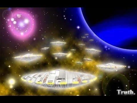 UFO Milhares de Seres de Luz de volta da Terra. Thousands of Light beings