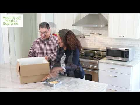 Healthy Meals Supreme~Here's How It Works With GeGe And Freddy! NEW Meal Plan Service Promo Video