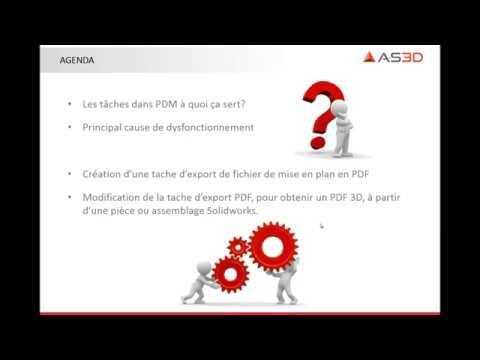 [Formation SOLIDWORKS PDM] Les tâches automatisées dans PDM