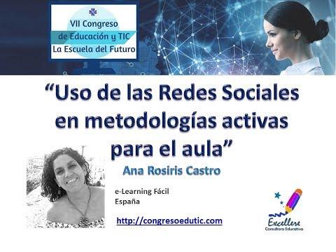 VII Congreso EduTIC Ponencia de Ana Rosiris