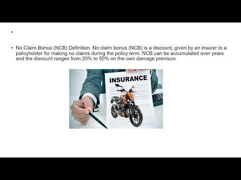 What is no claim bonus in bike insurance