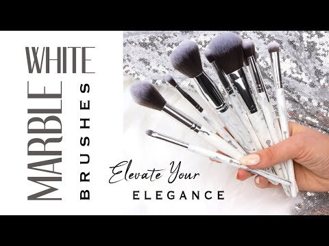 Brush Up on Luxury Looks with BH Cosmetics White Marble